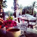 İzmir'de türk kahvesi keyfi