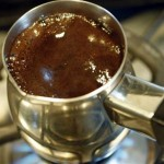 kahve yapımı