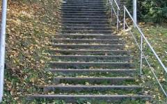 kahve falında merdiven